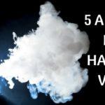 """5 abitudini che ci fanno essere """"Hardcore Vapers""""!"""