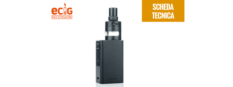 SPECIFICHE E CARATTERISTICHE: EVIC BASIC con CUBIS PRO MINI