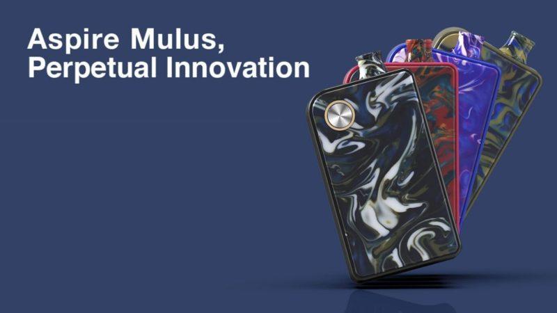 Aspire Mulus, innovazione perpetua