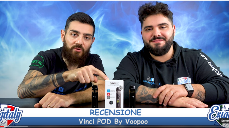 Video Recensione Vinci Pod By Voopoo