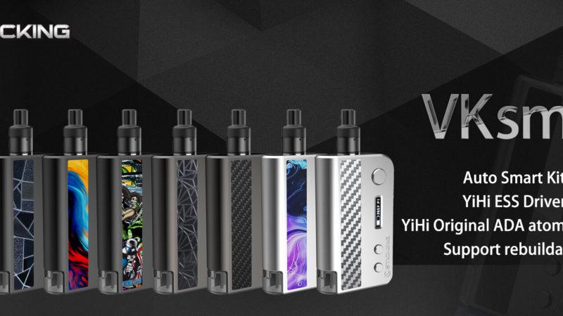 Recensione VKsma di VSticking, il Kit Squonk con chip YiHi