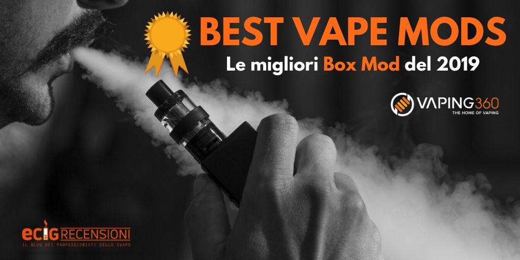 Best Vape Mods – Le migliori Box Mod del 2019 negli USA
