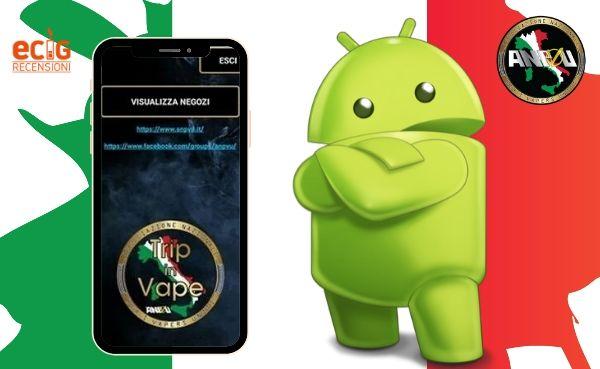 App Trip in Vape, Mappa e Recensioni Negozi Svapo sul tuo Smartphone