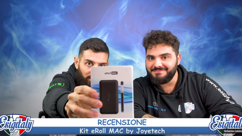 Video Recensione Joyetech eRoll MAC by EsigItaly