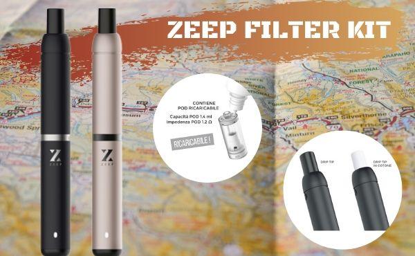 Zeep Pod, il piccolo kit con drip tip in cotone (Recensione breve)