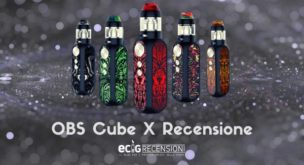 OBS Cube X, Piccola ma innovativa (Recensione)