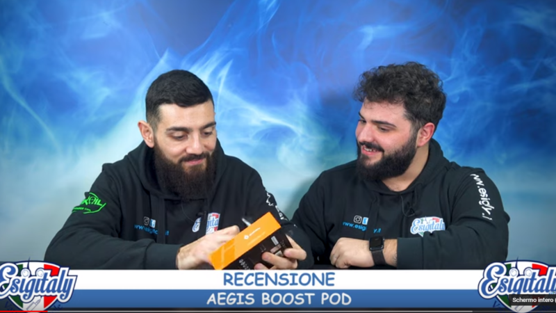 Video Recensione Aegis Boost By Esigitaly