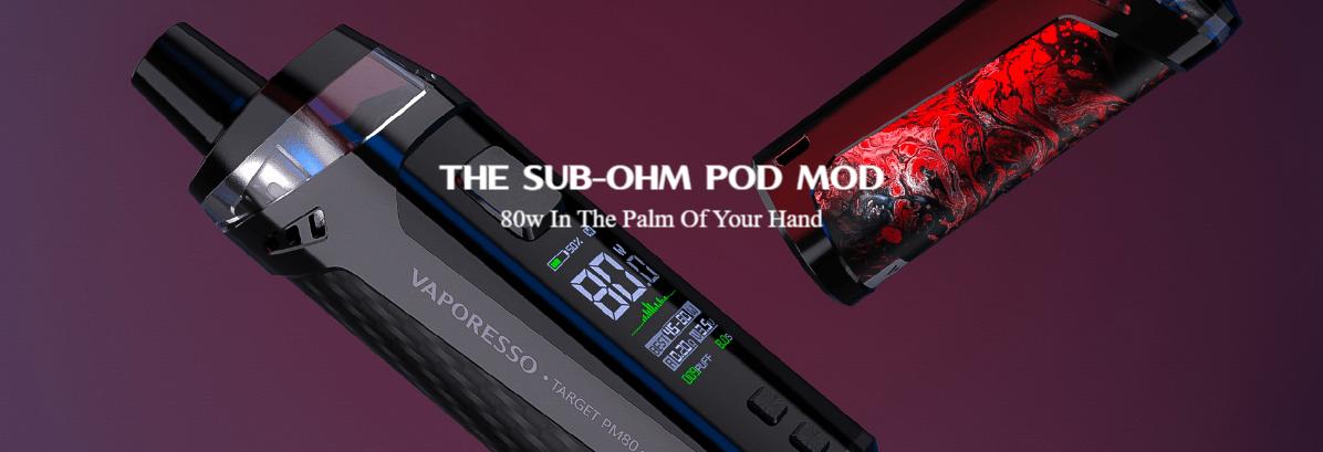 Recensione TARGET PM80 VAPORESSO: 80 watt in un palmo di mano (con il parere degli esperti)