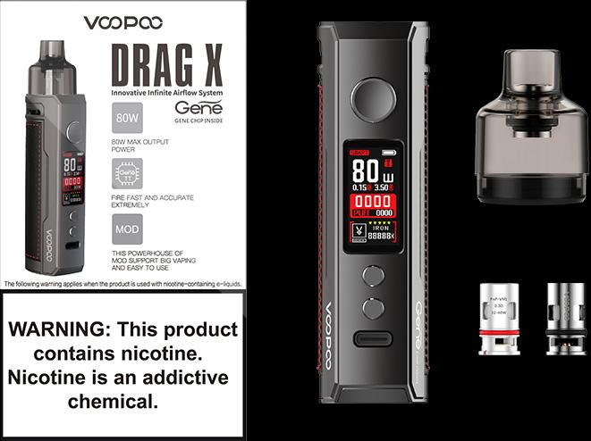 drag x confezione