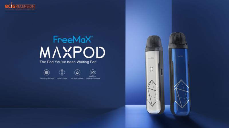 MaxPod FreeMax, il giusto mix tra qualità e sapore (Recensione)
