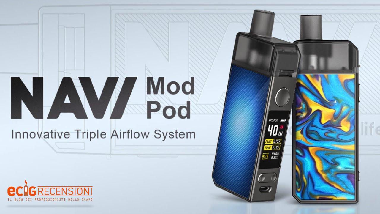 Navi Voopoo, la Pod Mod con tre livelli di flusso d'aria (Recensione)