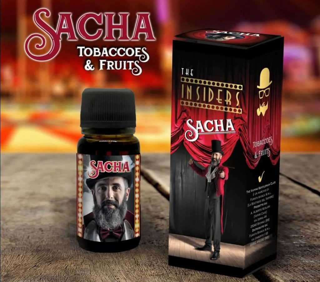INSIDER SACHA tabaccosi aromatizzati