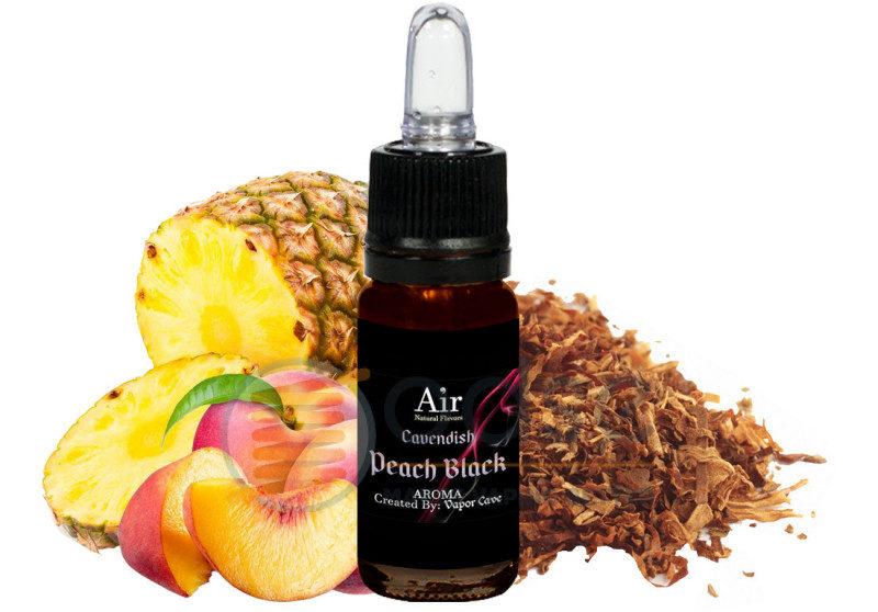 peach black vapor cave tabaccosi aromatizzati