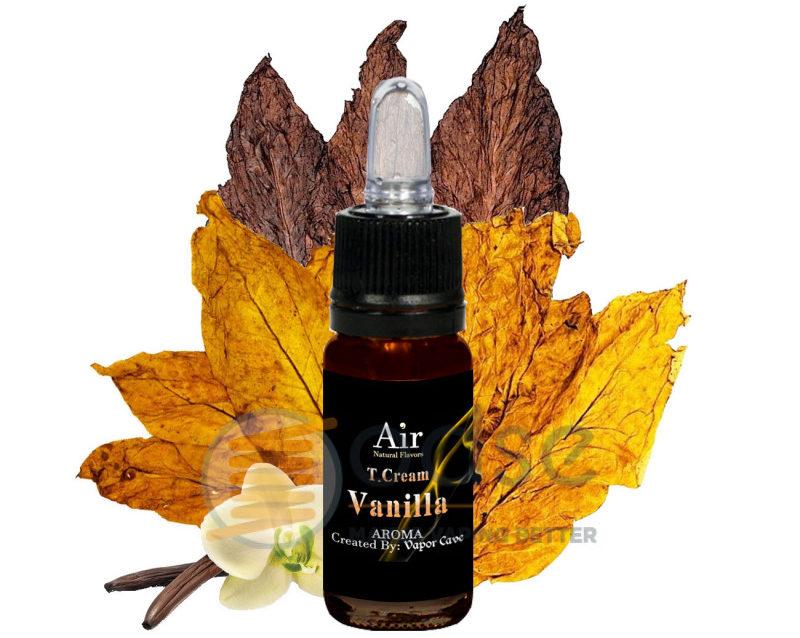 tcream vanilla vapor cave tabaccosi aromatizzati