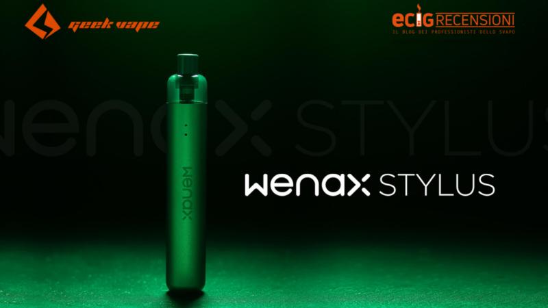 Wenax Stylus, colori unici e sapore garantito (Recensione)