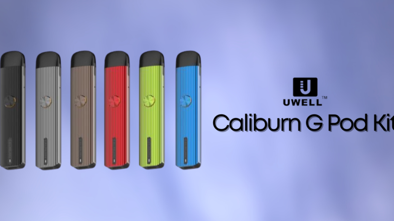 Caliburn G, upgrade del Pod Kit by Uwell (Recensione)
