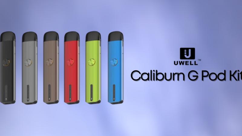 Caliburn G, upgrade del Pod Kit by Uwell (Recensione)