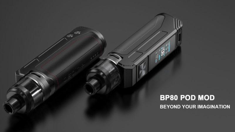Aspire BP80, Pod Mod fratello maggiore del BP60 (Recensione)