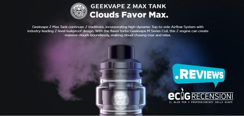 Z max geekvape (Recensione breve)