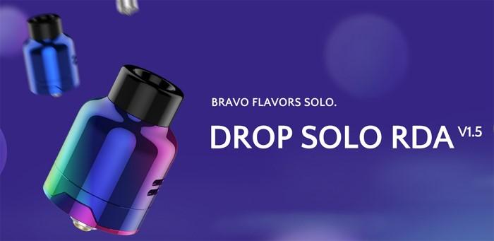 Digiflavor Drop Solo V1.5 RDA – Panoramica